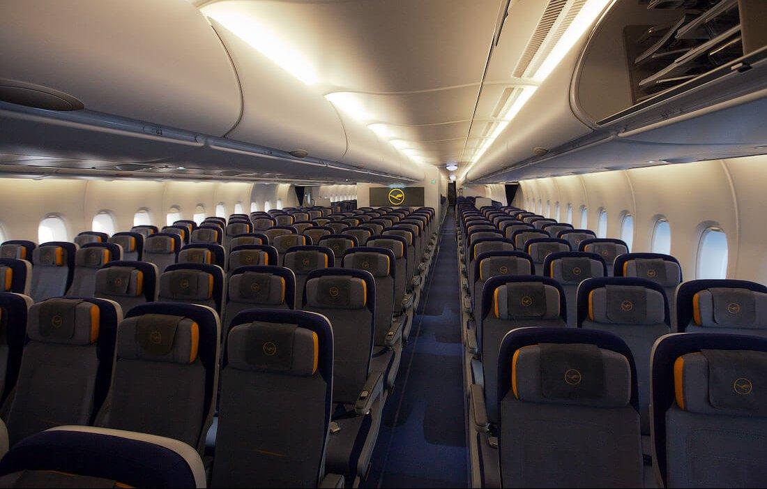 эконом класс в самолете