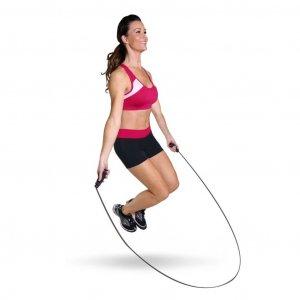 Фитнес дома упражнения со скакалкой