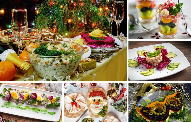 Вкусные лёгкие салаты на новый год 2019