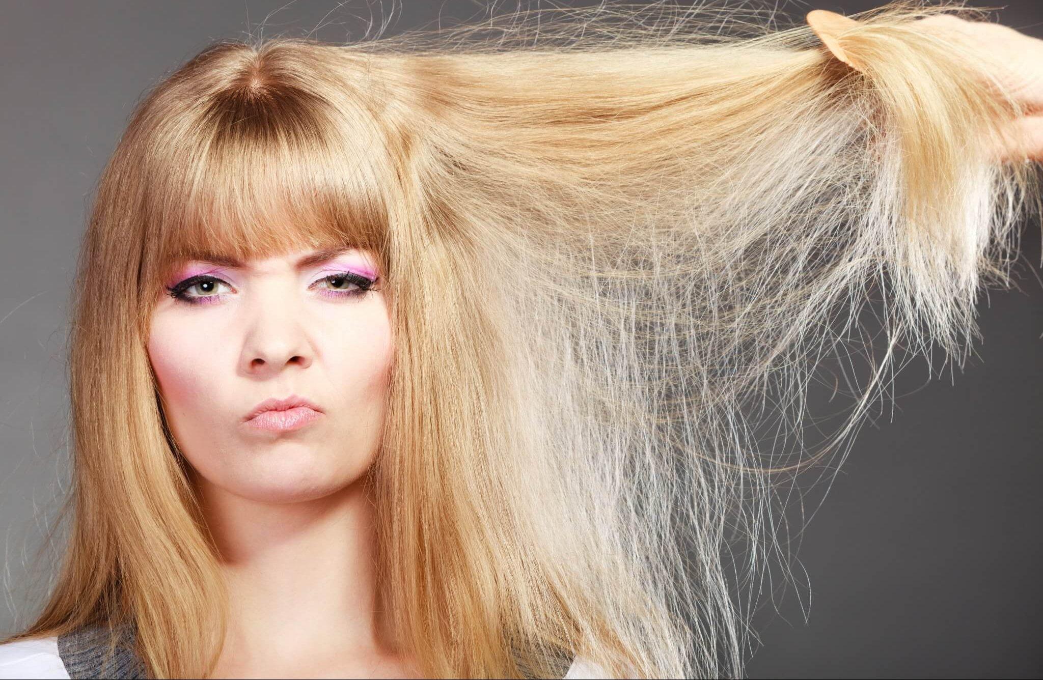 Борьба с сухостью и ломкостью волос