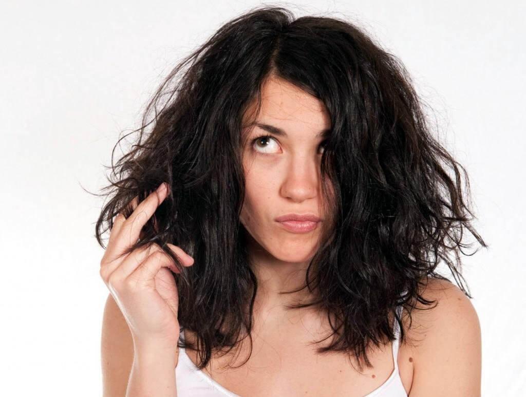 Жирные проблемные волосы
