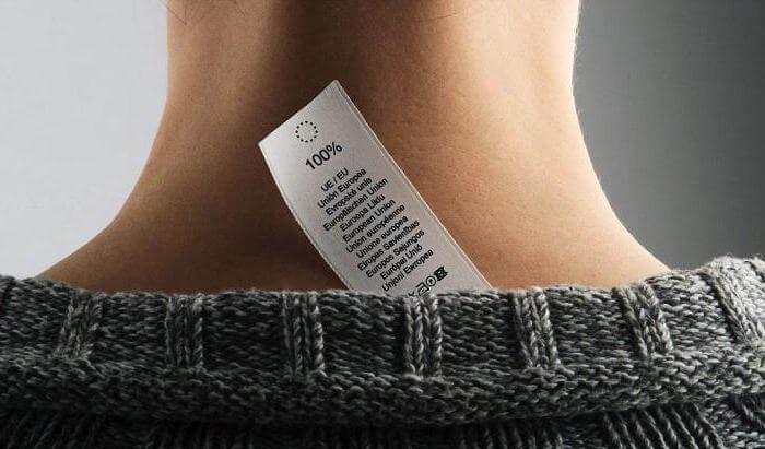 Знаки на ярлыках одежды