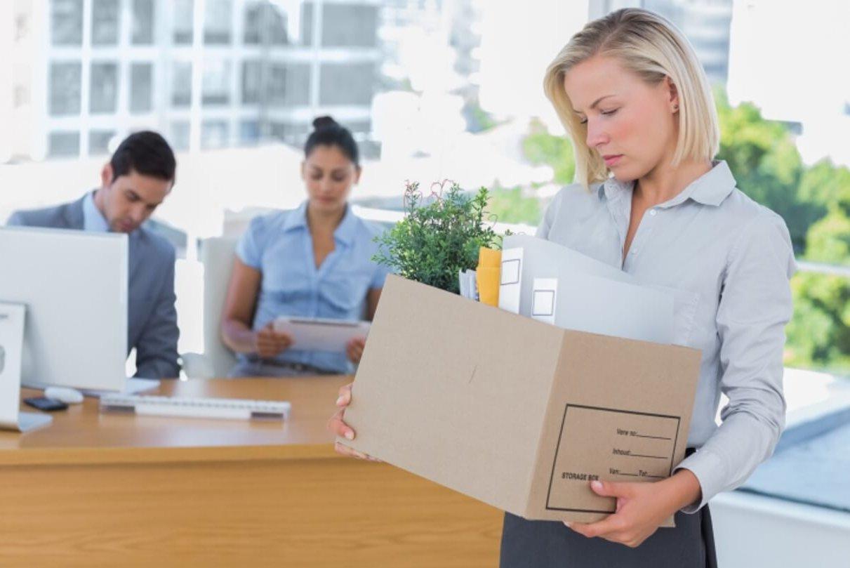 Смена работы для женщины