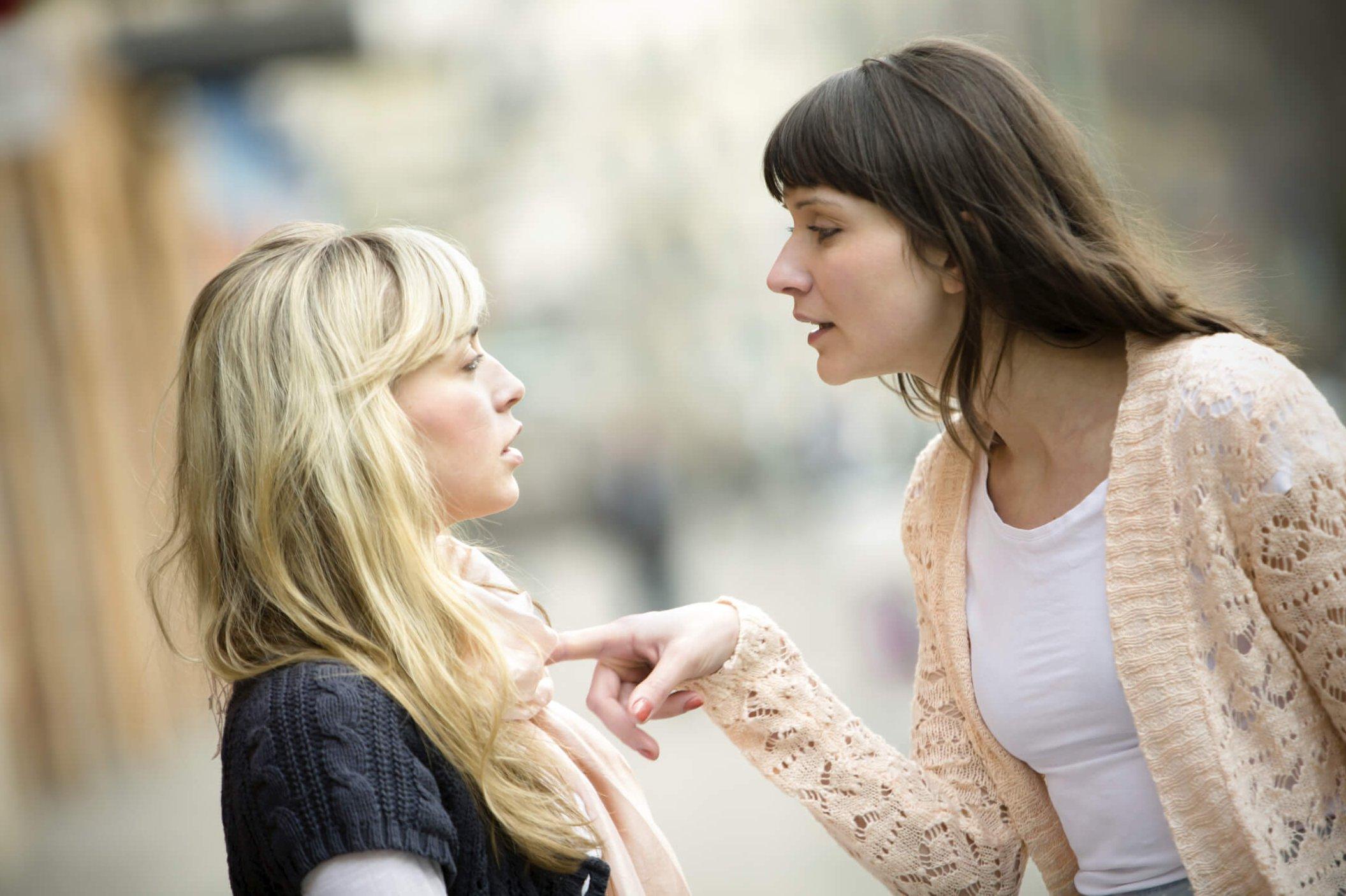 Девушки ссора картинки