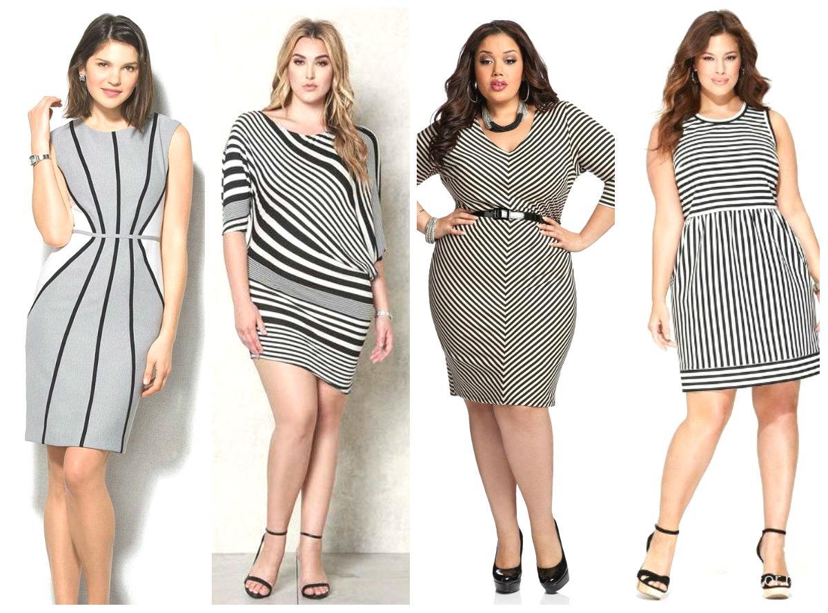 Модные платья 2018 для полных женщин