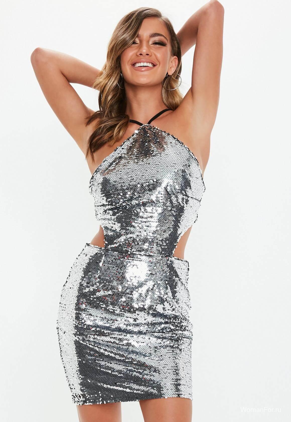 Платье на Новый год в клуб